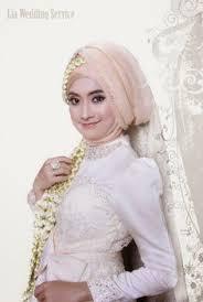tutorial hijab syar i untuk pernikahan foto rias pengantin muslim berjilbab wedding dress pinterest