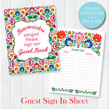 baby shower sign guest sign in sheet printable pdf wedding shower sign