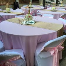 Pink Chair Covers Princess Carriage Centerpieces Carriage Centerpieces Pink