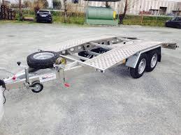 carrello porta auto usato rimorchio carrello in alluminio trasporto a chiesina uzzanese