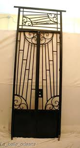 door awesome metal door gate hand made modern entryway door gate