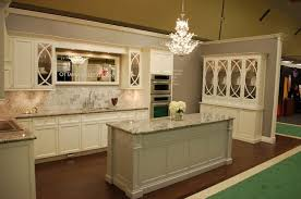 Kitchen Cabinets And Countertops Kitchen Fascinating Cream Granite On Cream Cabinets Contemporary