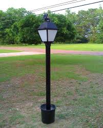 flower pot solar light solar powered led lamp post