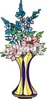 Clipart Vase Of Flowers Picture Of Fresh Cut Flowers In A Vase In A Vector Clip Art