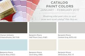 benjamin moore 2017 colors january february 2017 ballard designs paint colors how to decorate