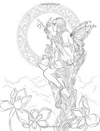 fairy mermaid coloring pages this is a beautiful and intricate coloring page for older children