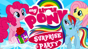 my little pony surprise party game my little pony game for kids
