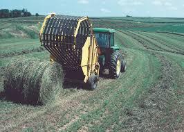 hay mowing baling tractor alberta plains pinterest tractor