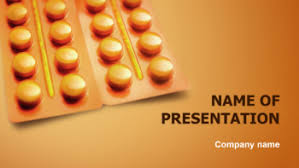 download free orange globules powerpoint theme for presentation