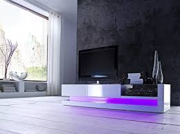 replacing led lights in tv twist high gloss tv unit with rgb colour change led lighting amazon