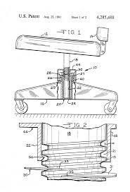 Who Invented The Swivel Chair by Patent Us4285488 Height Adjusting Mechanism For A Swivel Chair