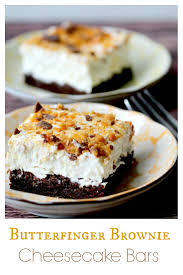 butterfinger brownie cheesecake bars recipe crusts brownies