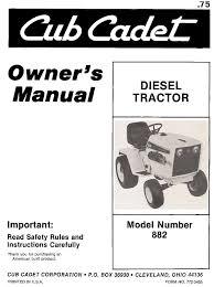 ub 04 manual rusty bucks ranch cub cadet manuals index