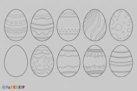blank easter eggs best of blank easter egg template templet pattern and shiny paint
