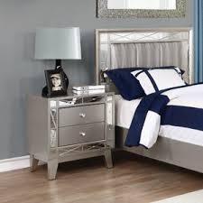 two tone nightstand wayfair