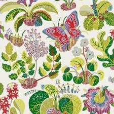 schumacher exotic butterfly multi wallpaper