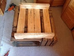 Wohnzimmertisch Kiste Ich Baue Einen Wohnzimmertisch Aus Obstkisten Der Vintage