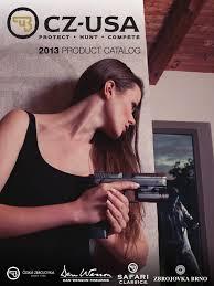 cz catalog 2013 trigger firearms firearms