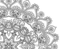 mandala coloring pages mandala coloring etsy