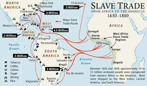 a of slavery in modern america the atlantic the trans atlantic trade lessons tes teach
