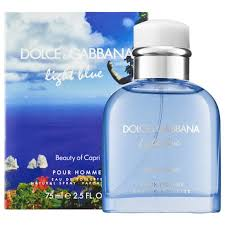 dolce and gabbana light blue 2 5 oz dolce gabbana light blue beauty of capri pour homme 2 5 oz