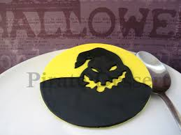 Halloween Fondant Cake by Oogie Boogie Edible Cake Topper Nightmare Before Christmas