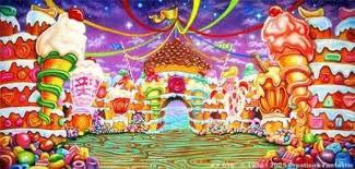 candyland castle candyland wallpaper wallpapersafari