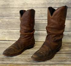 womens cowboy boots size 11 wide womens cowboy boots slouchy brown boho grungy