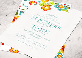 colorful wedding invitation templates tbrb info