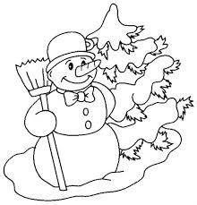 snowman coloring pages frosty karen carrot nose