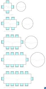 average round table size 8 person table dimensions 8 person table dimensions large size of