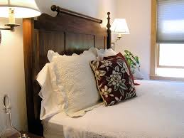comfortable bed the red maple room the juniper inn a door