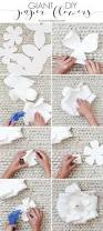 Paper Flower Diy Giant Paper Flowers Tutorial Maison De Pax