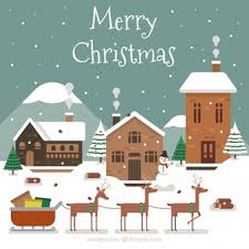 christmas houses christmas houses vectors photos and psd files free