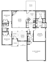 Home Floorplan by The Carter Oklahoma New Home From Home Creations