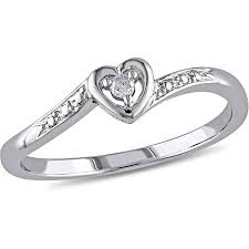 commitment ring miabella diamond accent sterling silver heart shaped promise ring