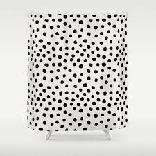 Checkered Shower Curtain Black And White by Abstract And Black White Shower Curtains Society6