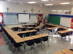 Classroom Desk Organization Ideas Find This Pin And More On Classroom Cool Seating Arrangements