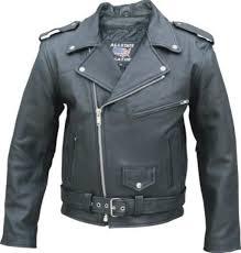 motorcycle wear full belt leather classic motorcycle jacket as al2040