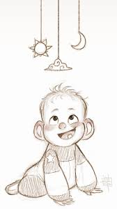 best 25 baby drawing ideas on how to draw babies