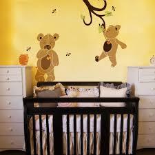 teddy bear stencils for painting teddy bear wall mural on baby nursery teddy bear wall stencil kit
