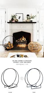 bliss home decor roost log holder log holder bliss and budgeting