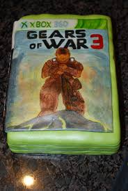 war cakes gears of war groom s cake cakecentral
