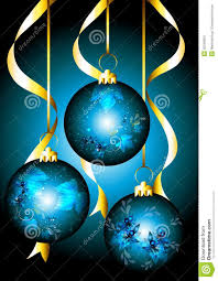 beautiful christmas cards beautiful christmas card with blue baubles stock vector