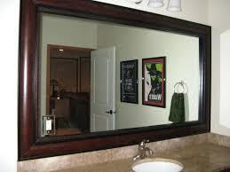extraordinary ideas bathroom mirror frame kit marvelous ative atg