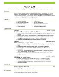 word resume template 15 of the best resume templates for microsoft word office livecareer