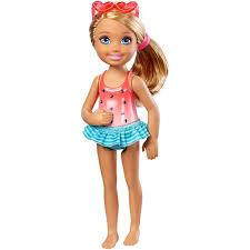 facebook themes barbie barbie club chelsea swimming doll dwj34 barbie
