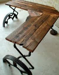 Reclaimed Wood Desk Alluring Reclaimed Wood Office Desk Fantastic Inspirational Home