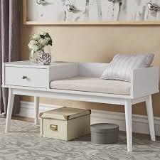 Black Indoor Bench - bedroom design entryway bench with shoe storage king bed bench