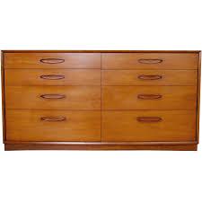 henredon mid century modern walnut dresser at 1stdibs